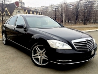 Mercedes S500 W 221 restyle
