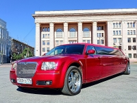 Лимузин Candy Red Chrysler