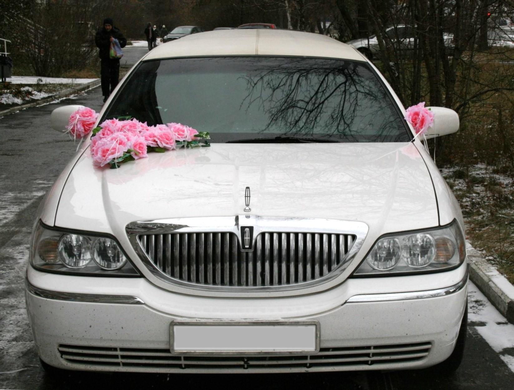 Украшения на машины на свадьбу
